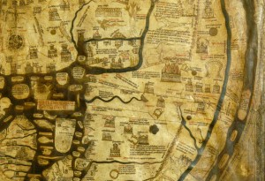largest Mappa Mundi in existence
