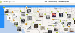 Ancestry 1940 map demo