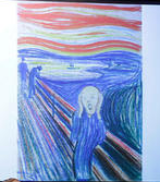 Munch pastel on board sold for 107 million dollars