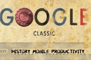 google mobile history business icon