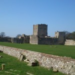 Portchester Castle the most complete Roman fort in Northern Europe