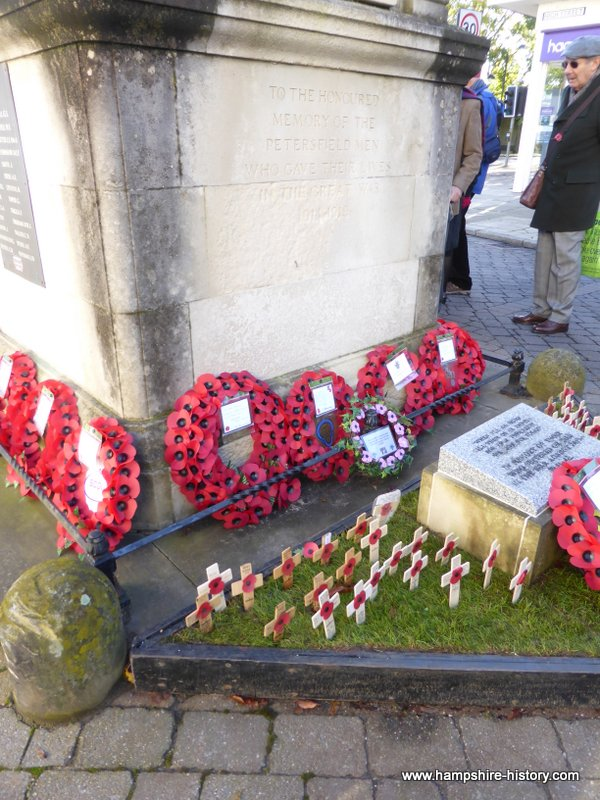 Petersfield War Memorial on History Pin